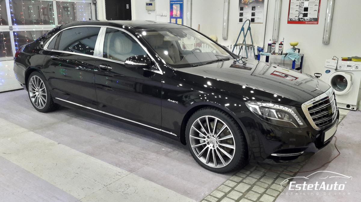 ***** Mercedes S500 Maybach, защита нанокерамикой